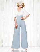 Широкие брюки в стиле Марлен
