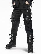 Мужские брюки с пряжками