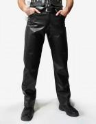 Мужские кожаные брюки