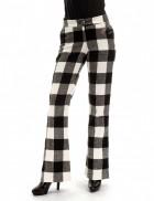 Теплые брюки-клеш