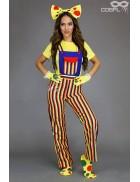 Костюм циркового клоуна женский C8084