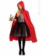 Красная детская накидка X-Style