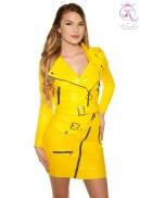 Байкерская куртка женская KC2026