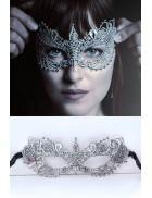 Серебристая маска Бабочка AR1048