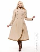 Женское зимнее кашемировое пальто X-Style