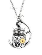Кулон Steampunk Owl