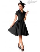Винтажное черное платье Belsira Premium
