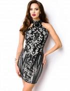 Облегающее вечернее платье 105200