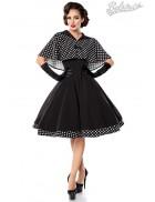Платье в стиле 50-х с шалью