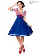 Ретро-платье с декольте Belsira