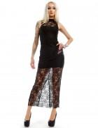 Длинное кружевное платье XC5076