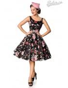 Платье Ретро с вышитыми цветами Belsira