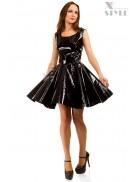 Платье клеш под латекс X-Style