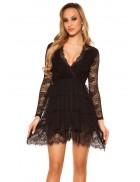 Откровенное ажурное платье MF5411