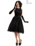 Кружевное платье в стиле Ретро X5342