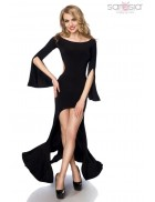 Платье с открытой спиной S7153