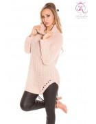 Женский свитер (античный розовый)