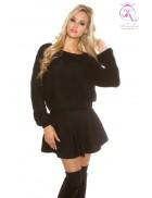 Черный свитерок KouCla