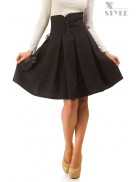 Плиссированная юбка с высокой талией X-Style