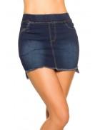 Джинсовая юбка с карманами MF7170