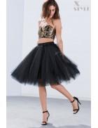 Пышная юбка-пачка миди X7183