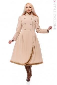 Зимнее винтажное пальто X5038