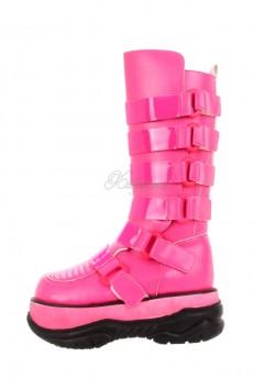 Розовые сапоги Кибер