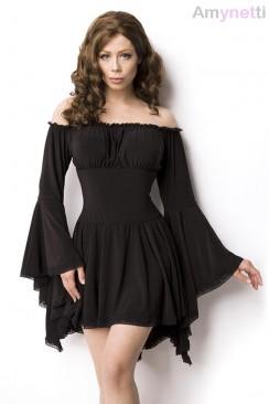 Платье-туника c широкими рукавами A5018