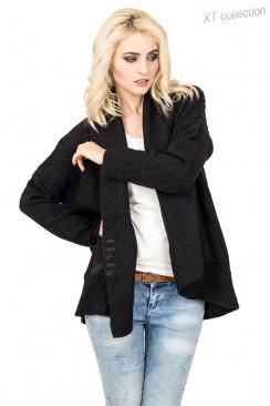 Женский черный кардиган XC4121