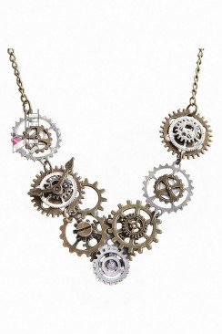 Ожерелье в стиле Стимпанк XJ7050
