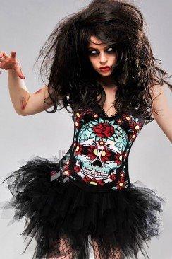 Корсет Miss Skull