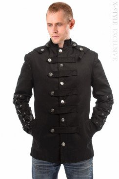 Зимняя мужская куртка с капюшоном