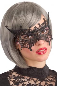 Карнавальная черная маска A1043