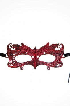 Металлизированная красная маска XA1056