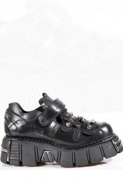 Мужские ботинки на платформе New Rock