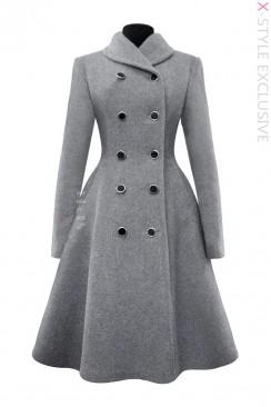 Зимнее шерстяное пальто X5054