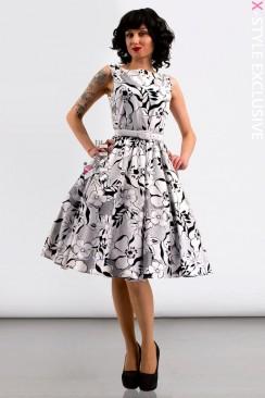 Платье Pin-Up с поясом X-Style