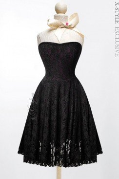 Кружевное платье 105097
