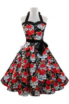 Платье Рокабилли X203