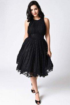 Ретро-платье в стиле 40-х XTC220