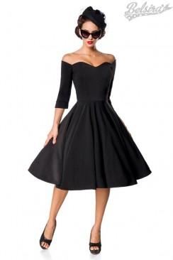Винтажное черное платье Belsira