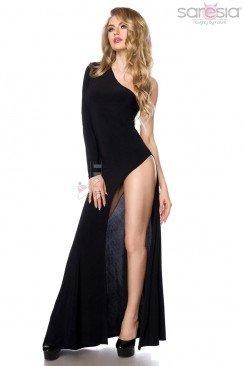 Платье с глубоким разрезом Saresia