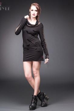 Короткое облегающее платье QD183-12