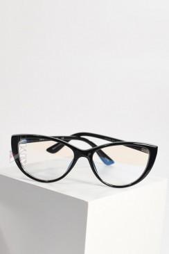 """Очки """"кошачий глаз"""" с прозрачными линзами IC5096"""