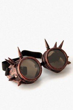 Очки-гогглы с шипами