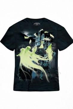 Светящаяся в темноте футболка