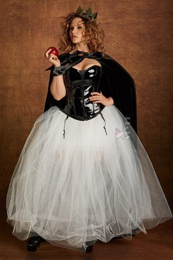 Длинная пышная юбка-пачка X-Style