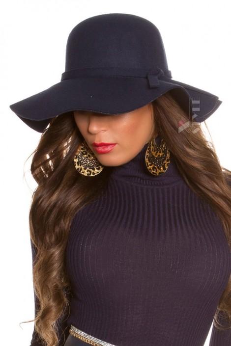 Широкополая женская шляпа в стиле Ретро (502065)