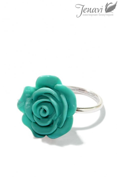 Колечко Rose Atomic Turquoise (jenr55530w)
