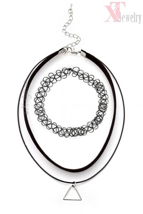 Ожерелья-чокеры (комплект 2 шт) (706163)